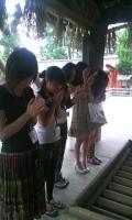 白山神社参拝