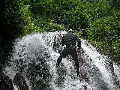 沢登り体験(2)