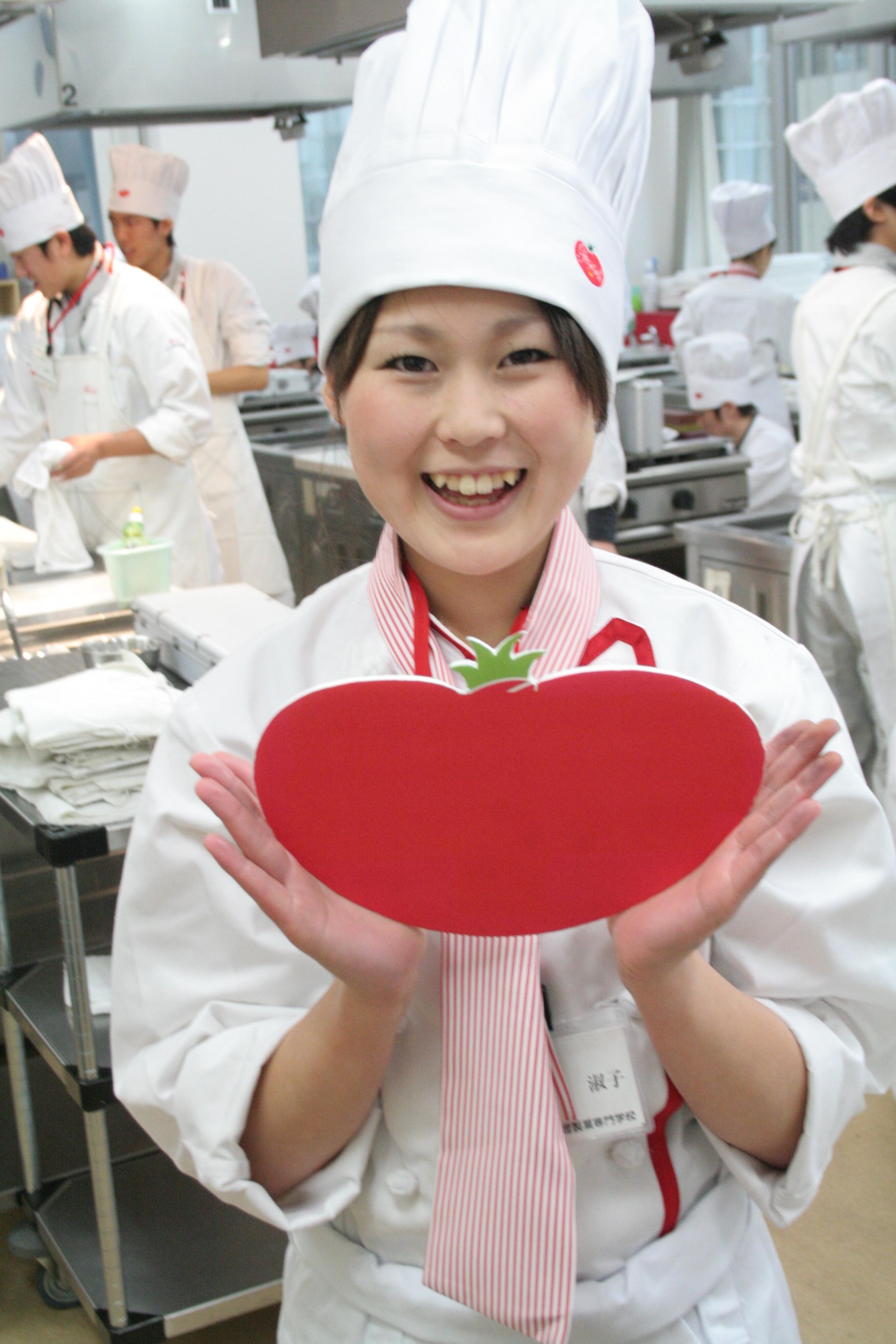 シェフ学科フランスコース奥村淑子さんです。