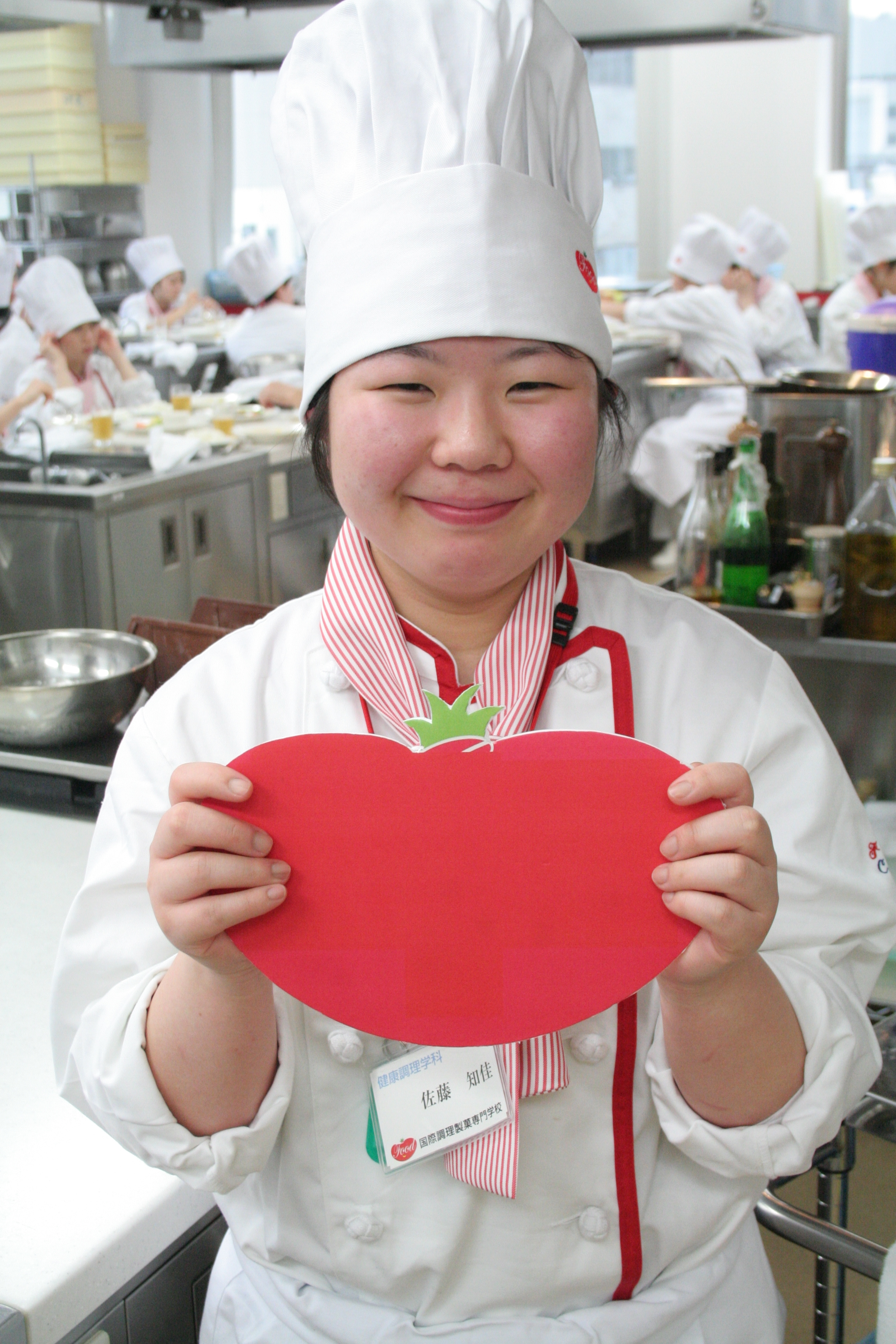 健康調理学科 佐藤知佳さん