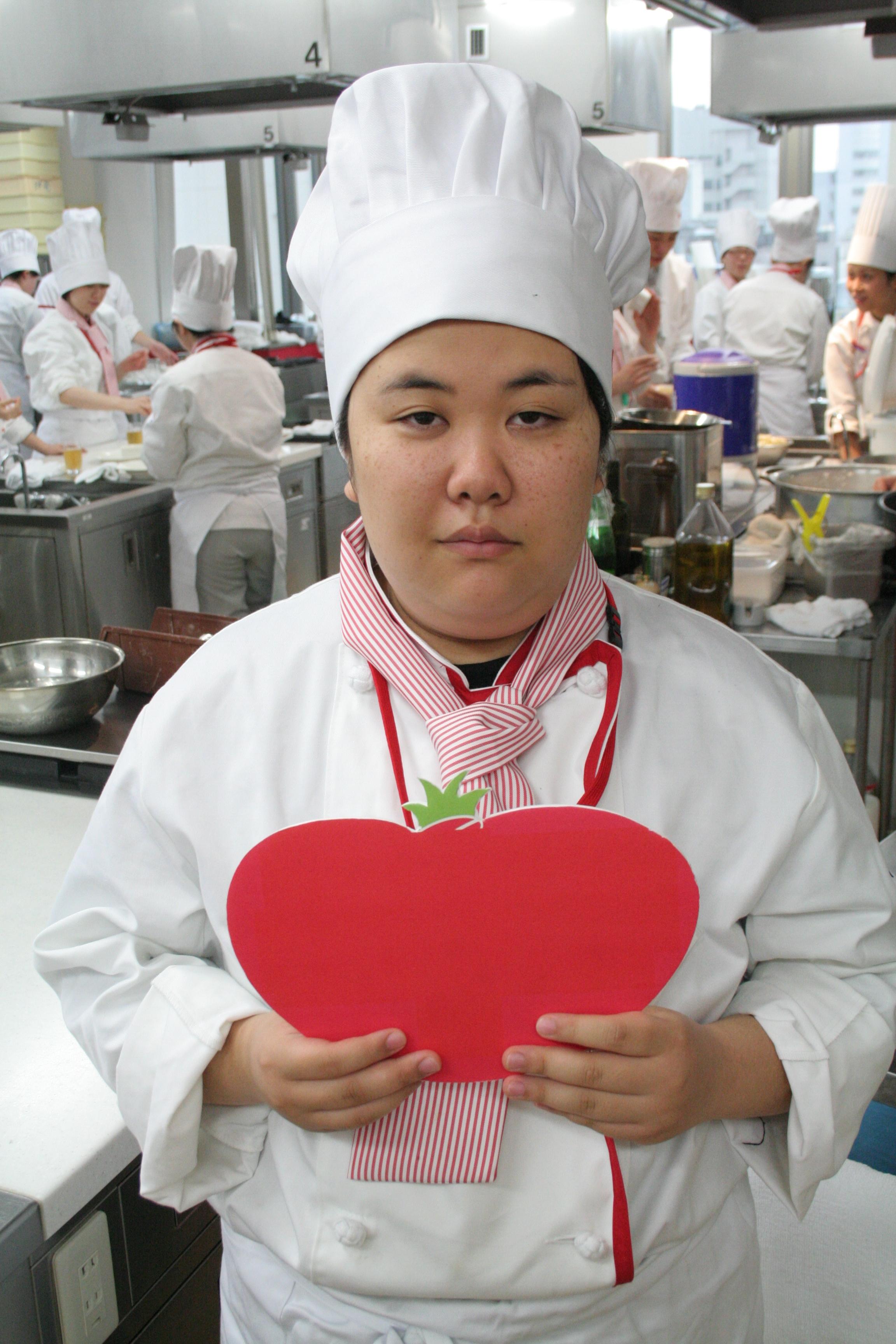 健康調理学科 久保田結子さん