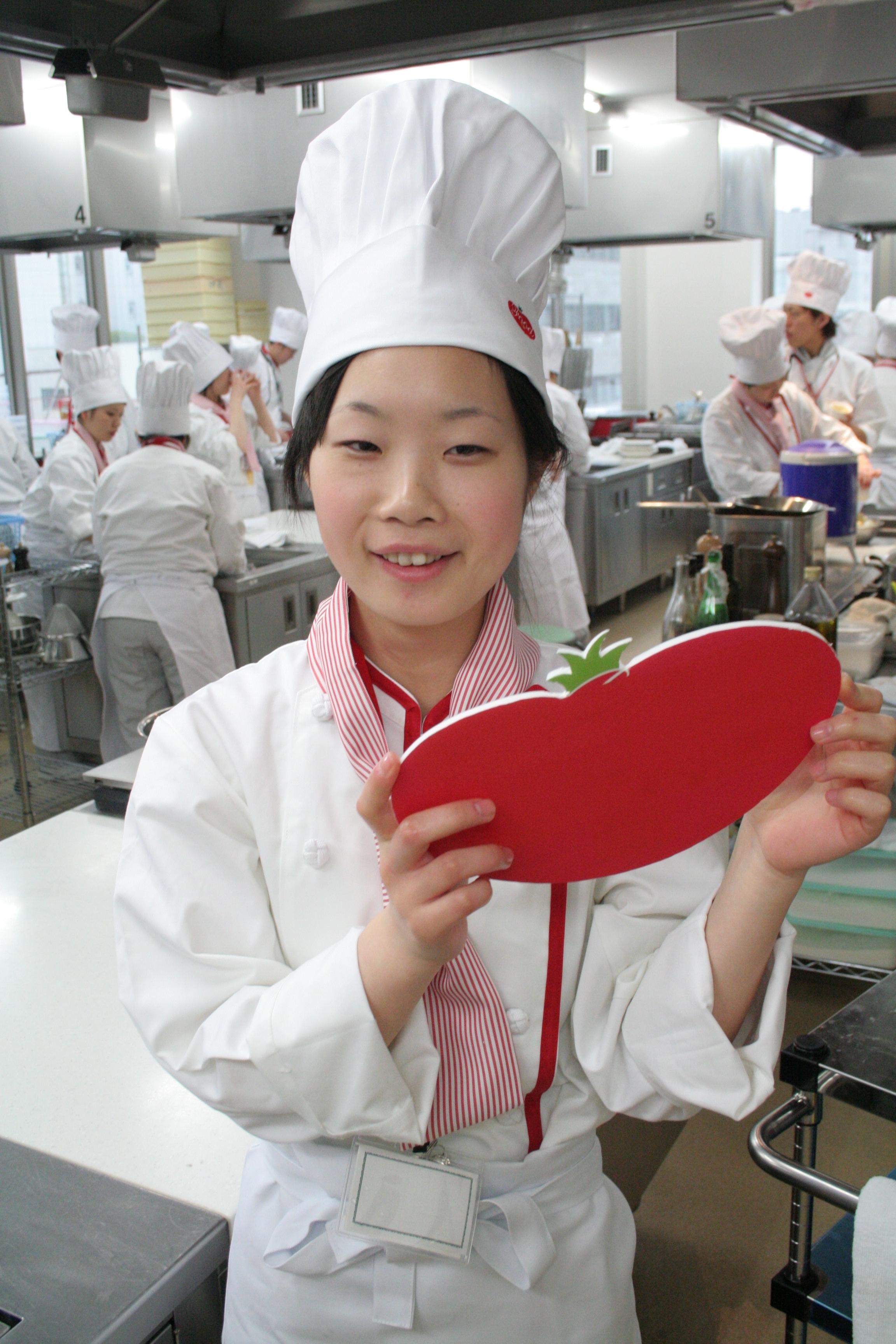 健康調理学科 大塚和子さん