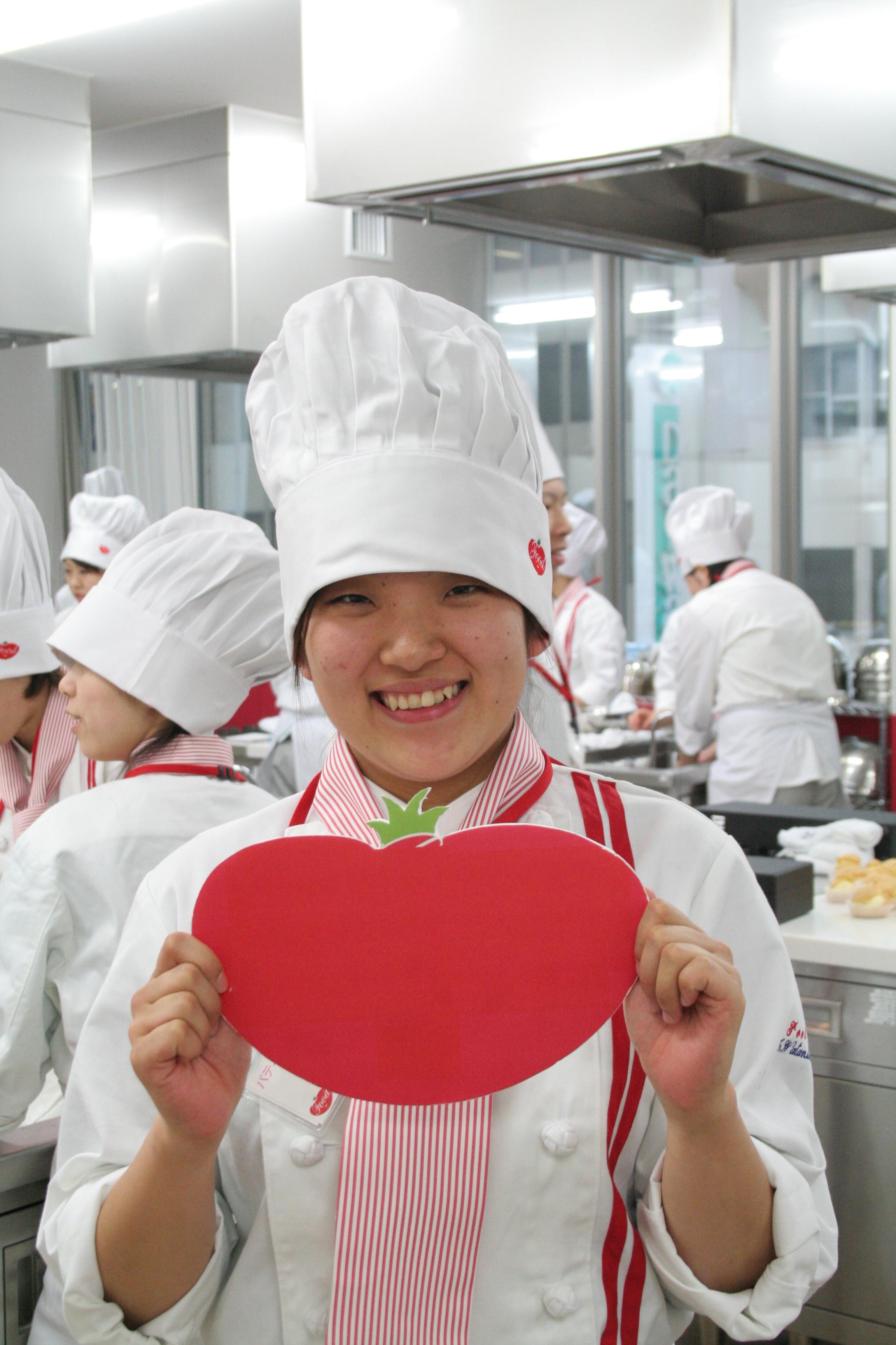 ケーキハウスチコに内定いただいた渡辺麻奈美さん